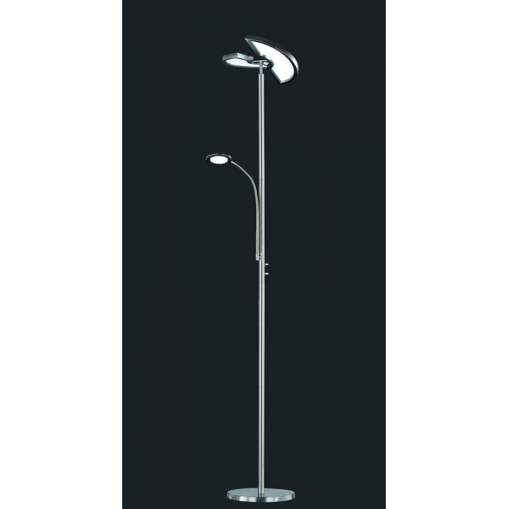 424910207 split led stehleuchte deckenfluter standleuchte dimmbar ca 180 cm ebay. Black Bedroom Furniture Sets. Home Design Ideas