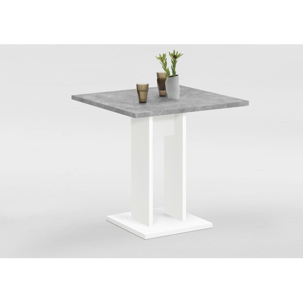 Tisch Esszimmertisch Küchentisch Beistelltisch 70 X 70 Cm Weiß