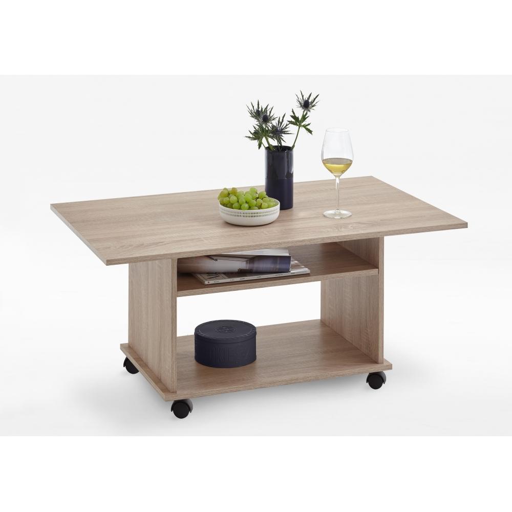 couchtisch beistelltisch wohnzimmertisch azur beton grau wei 100 x 60 cm fmd ebay. Black Bedroom Furniture Sets. Home Design Ideas