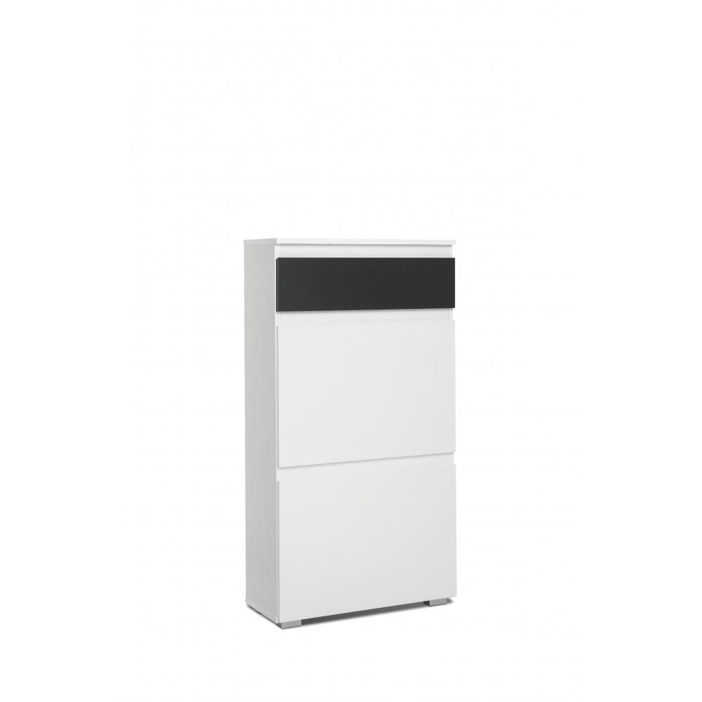 schuhschrank schuhkipper schuhkommode schublade image wei honig eiche ebay. Black Bedroom Furniture Sets. Home Design Ideas