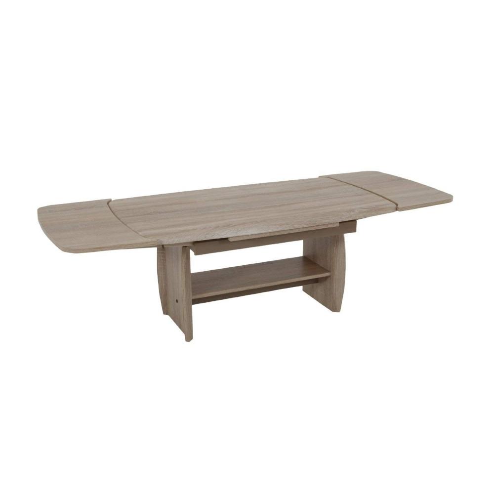 Couchtisch Wohnzimmertisch Tisch Hohenverstellbar Ausziehbar Dirk