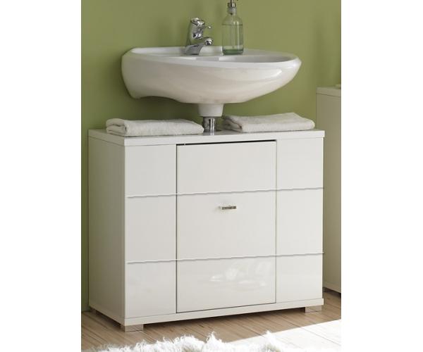badschrank waschbeckenschrank waschbeckenunterschrank morning hochglanz weiss ebay