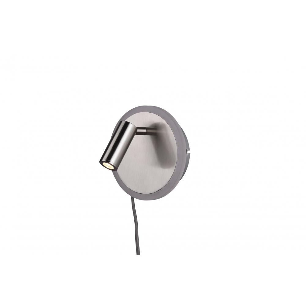 20 cm Schnurschalter. 226560242 Wandleuchte Tay anthrazit 2x SMD 4.5W Höhe ca