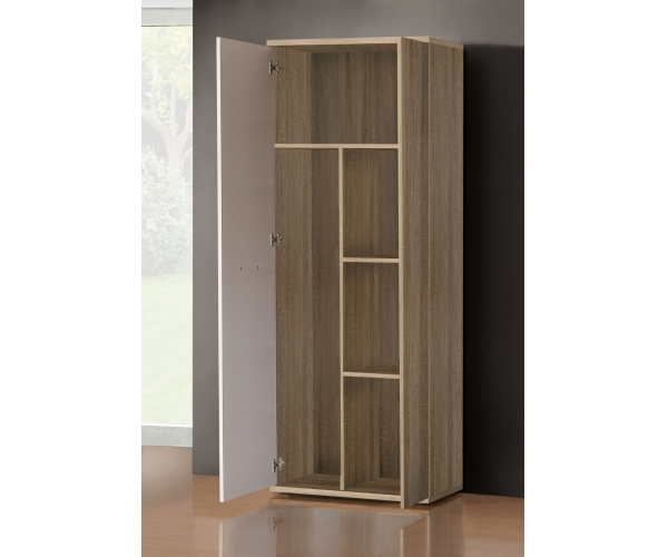 ms157 q45f mehrzweckschrank stauraumschrank putzschrank eiche s gerau dekor ebay. Black Bedroom Furniture Sets. Home Design Ideas
