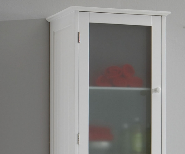 Hochschrank Wohnzimmer Mit Inspirierend Schrank 160 Hoch: Stockholm Hochschrank Seitenschrank Badschrank Schrank In