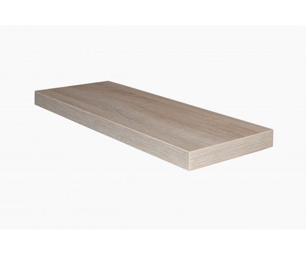 wandboard steckboard wandregal mit steckbeschlag eiche s gerau 90 cm m usbacher ebay. Black Bedroom Furniture Sets. Home Design Ideas