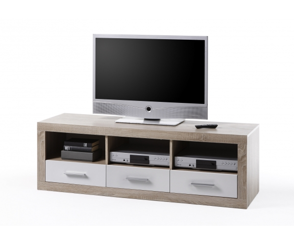 45 646 68 can can lowboard tv regal sideboard eiche s gerau ca 147 cm breit ebay. Black Bedroom Furniture Sets. Home Design Ideas