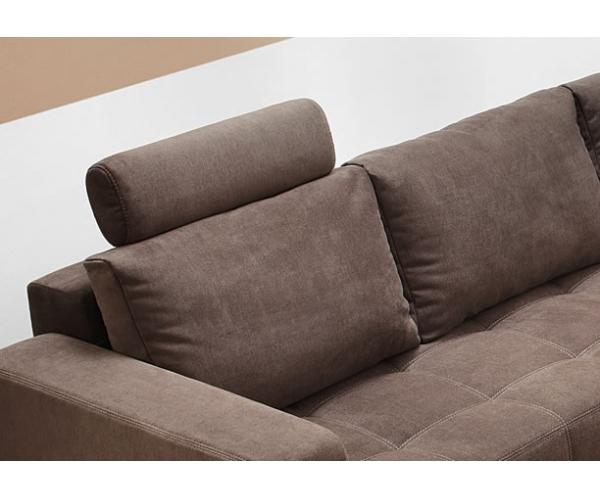 aura couchgarnitur wohnlandschaft sofa wohnzimmercouch braun inkl ... - Wohnzimmercouch Braun