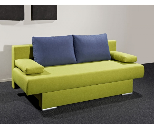 mia schlafsofa sofa funktionssofa g stesofa gr n blau ca 196 cm breit ebay. Black Bedroom Furniture Sets. Home Design Ideas