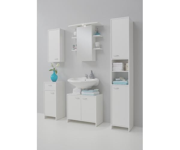 badezimmer madrid bad badem bel schr nke weiss von fmd. Black Bedroom Furniture Sets. Home Design Ideas