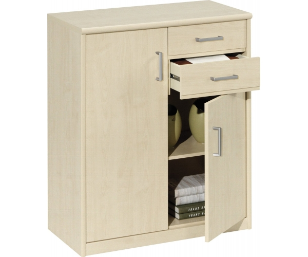 10 27 soft plus kommode stauraumkommode schuhkommode stauraumschrank ahorn nb ebay. Black Bedroom Furniture Sets. Home Design Ideas