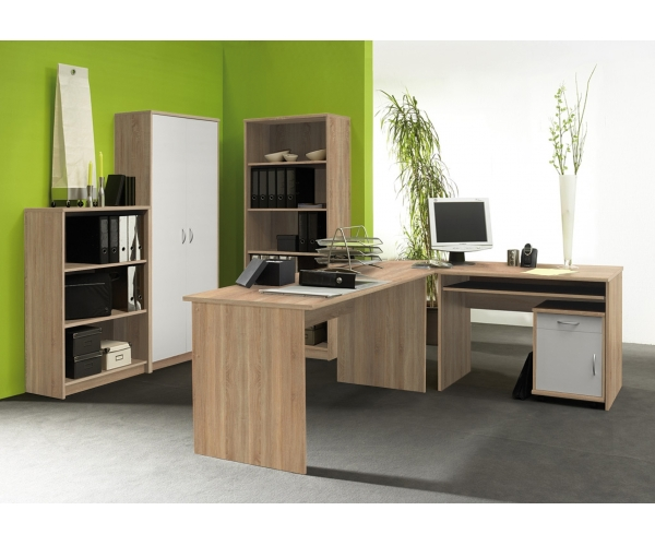 heimb ro office eiche s gerau nb wei b ro b roset b roeinrichtung ebay. Black Bedroom Furniture Sets. Home Design Ideas