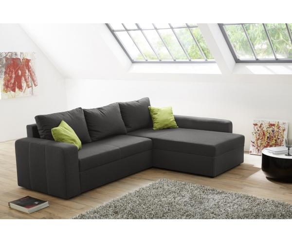 Couchgarnitur sofa wohnlandschaft ecksofa viper dunkel for Couchgarnitur wohnlandschaft