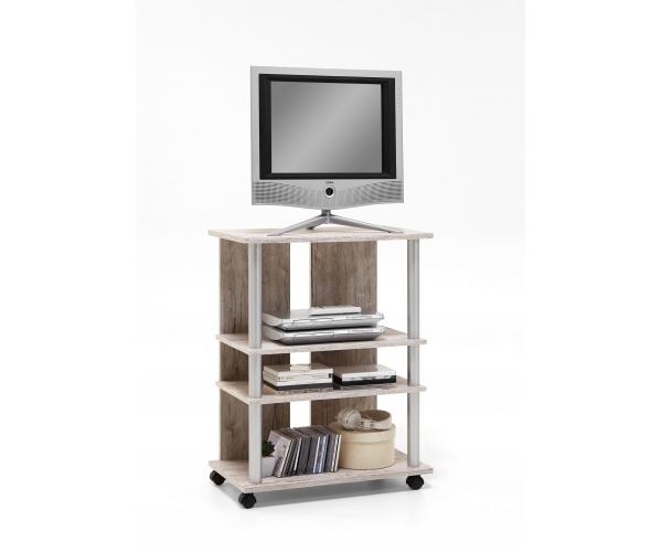 phonoregal lowboard tv regal hifi element 205 007. Black Bedroom Furniture Sets. Home Design Ideas
