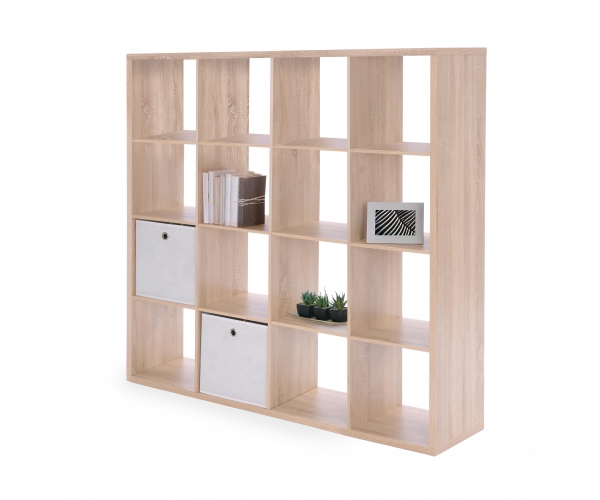 raumteiler regal stauraumregal b cherregal b roregal max 16 eiche s gerau ebay. Black Bedroom Furniture Sets. Home Design Ideas