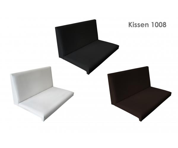 kissen mit r ckenlehne klemmkissen sitzkissen bankkissen braun ca 69 cm ebay. Black Bedroom Furniture Sets. Home Design Ideas