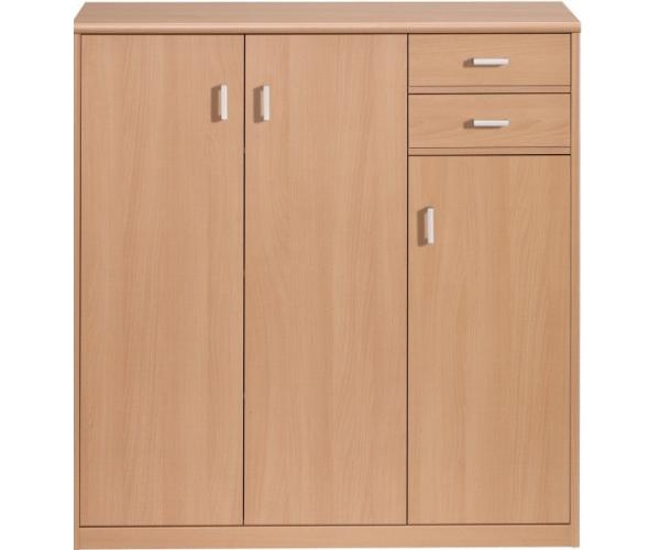 schuhschrank kommode schuhkommode buche nb soft plus cs schmal 55 61 ebay. Black Bedroom Furniture Sets. Home Design Ideas