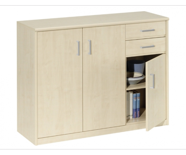 schuhschrank kommode schuhkommode stauraumkommode ahorn soft plus cs schmal 4003944010384 ebay. Black Bedroom Furniture Sets. Home Design Ideas