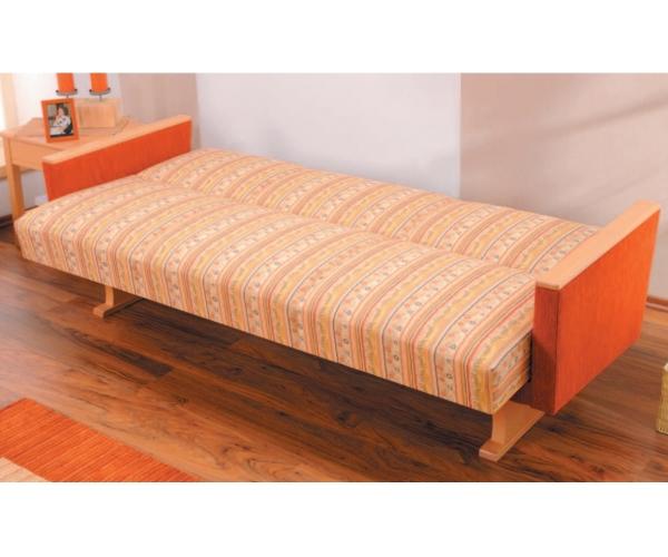 kippcouch k chensofa schlafsofa max klappbar bettkasten mit stauraum 174 cm ebay. Black Bedroom Furniture Sets. Home Design Ideas