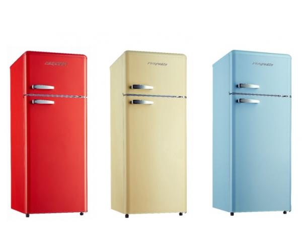 Retro Kühlschrank Blau : Kg retro a blau respekta kühl gefrierkombination