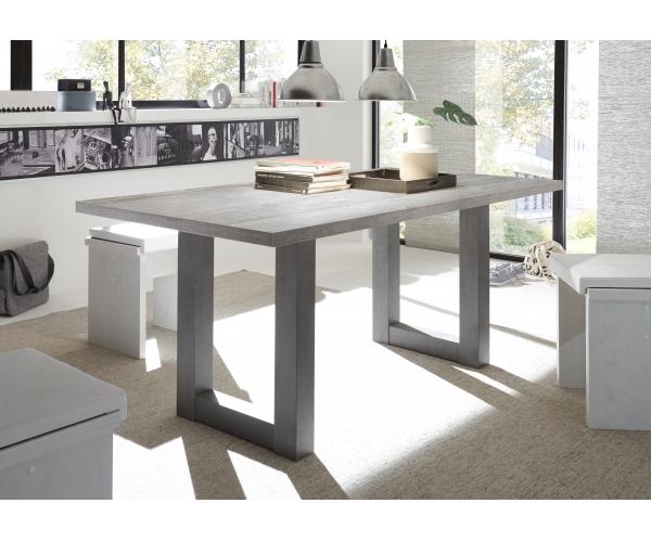esstisch weiss mit grauer platte trendy mit glas ud keramik platte ud jenversode ue glastisch. Black Bedroom Furniture Sets. Home Design Ideas