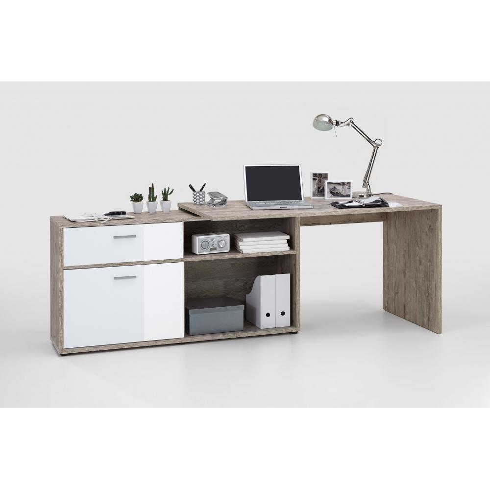 schreibtisch eckschreibtisch winkelschreibtisch sandeiche. Black Bedroom Furniture Sets. Home Design Ideas