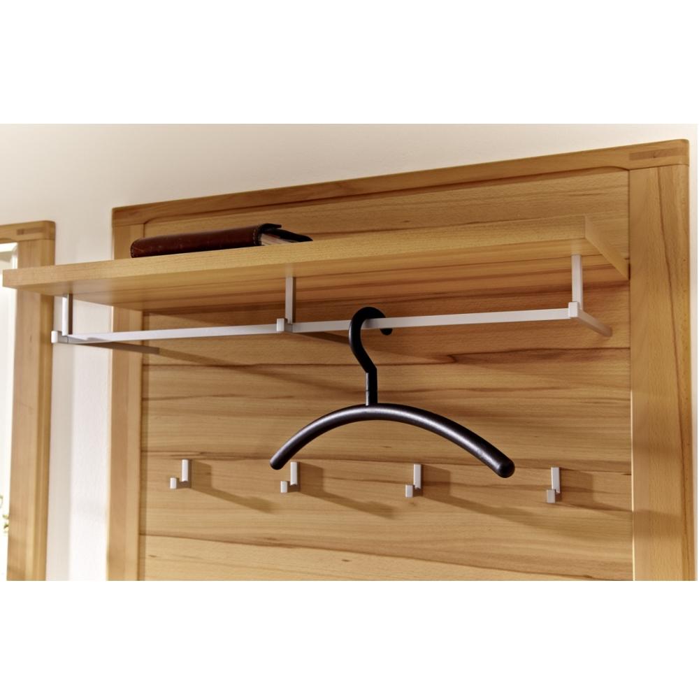 inkana kernbuche teilmassiv garderobenpaneel kleiderpaneel ca 90 cm breit ebay. Black Bedroom Furniture Sets. Home Design Ideas