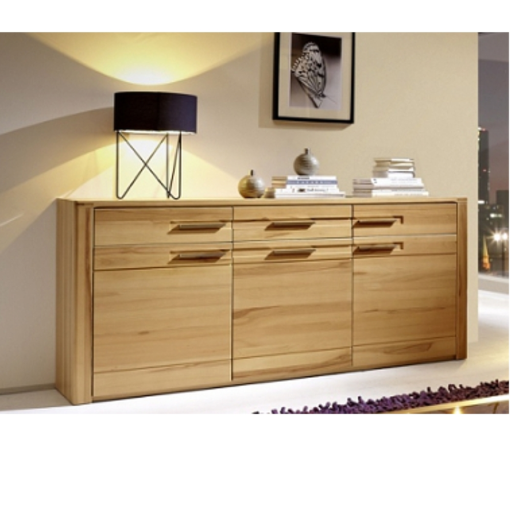 inkana kernbuche teilmassiv sideboard kommode highboard ca 188 cm breit ebay. Black Bedroom Furniture Sets. Home Design Ideas