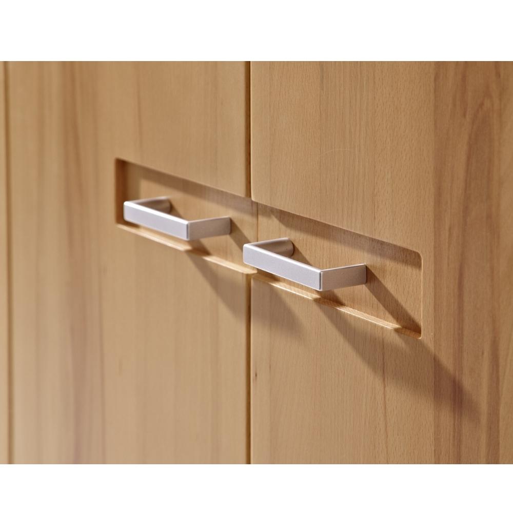 inkana kernbuche teilmassiv garderobenschrank kleiderschrank ca 74 cm breit ebay. Black Bedroom Furniture Sets. Home Design Ideas