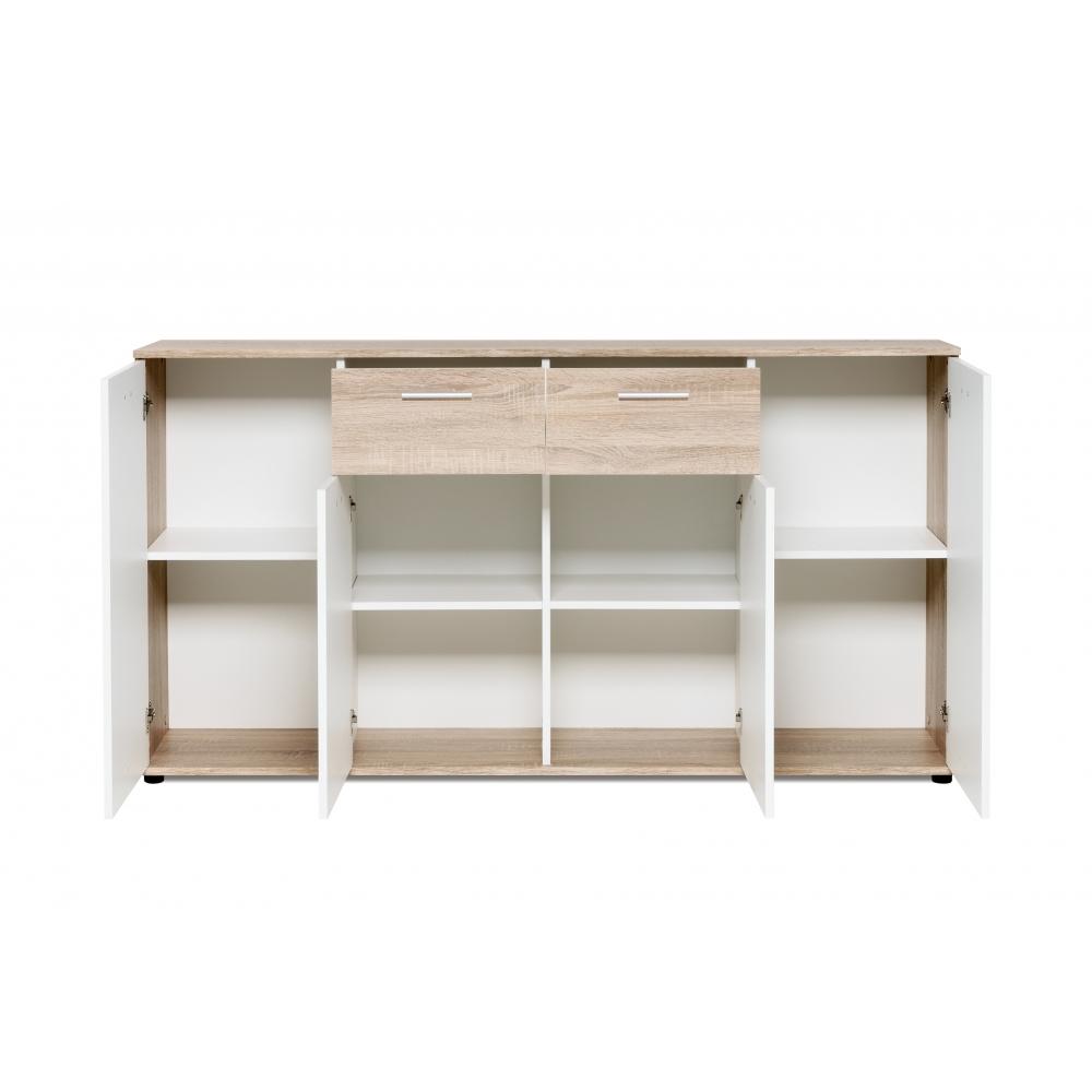 kommode beistellkommode stauraumkommode sideboard sonoma. Black Bedroom Furniture Sets. Home Design Ideas