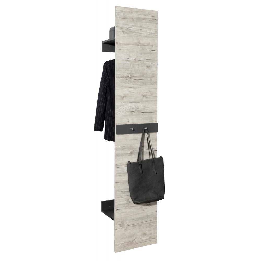 Garderobe diele 3teilig mit spiegel schuhschrank for Garderobe diele